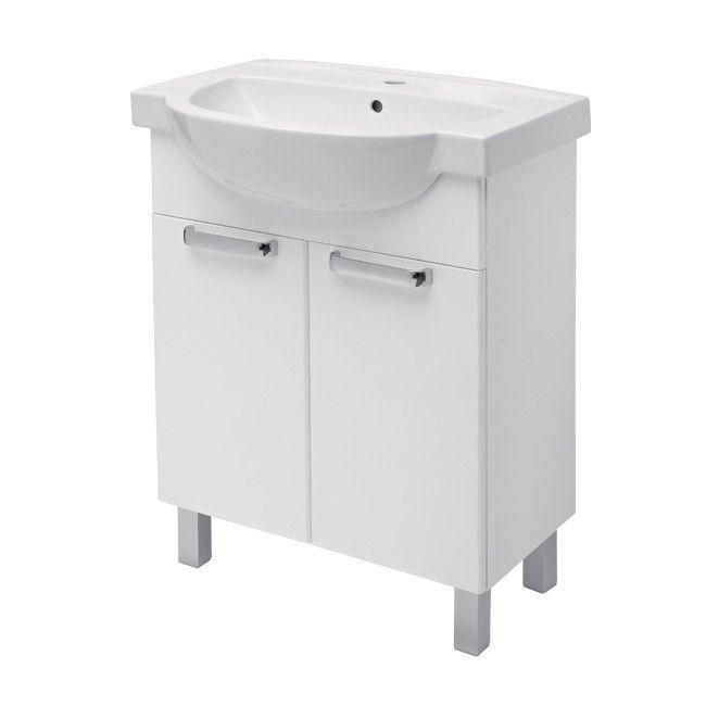 Zestaw szafka z umywalką Koło Freja 65 cm - Pod umywalkę ...