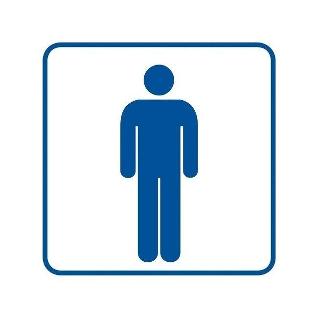 Znak Wc Męskie Znaki Sygnalizacyjne Castorama