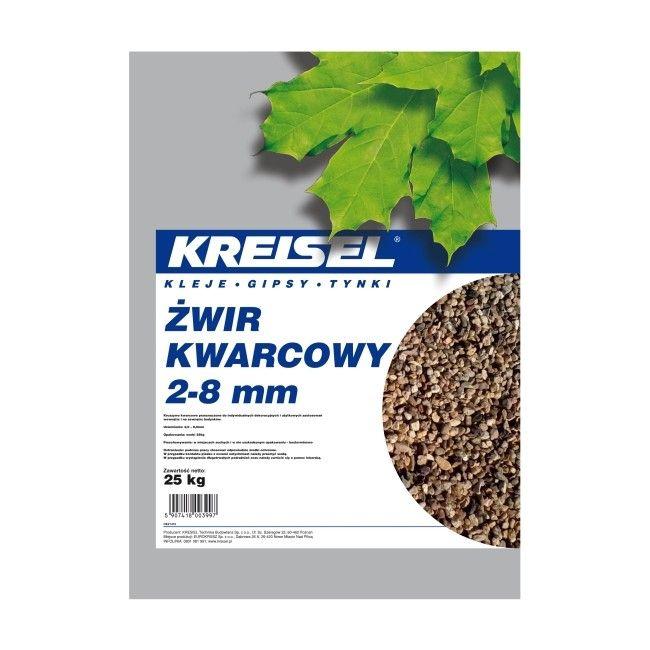 Żwir kwarcowy Kreisel 2-8 mm 25 kg