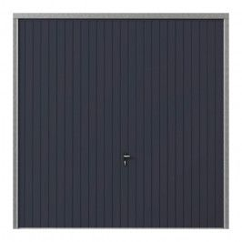 Brama garażowa uchylna 2500 x 2125 mm antracyt