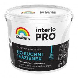 Farba Beckers Interio Pro do kuchni i łazienek biała 5 l