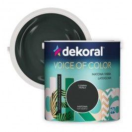 Farba Dekoral Voice of Color czarna perła 2,5 l