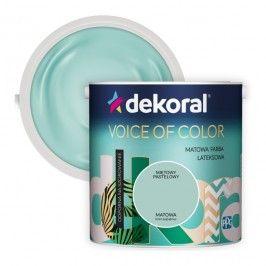 Farba Dekoral Voice of Color miętowy pastelowy 2,5 l