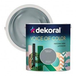 Farba Dekoral Voice of Color srebrzysta szarość 2,5 l