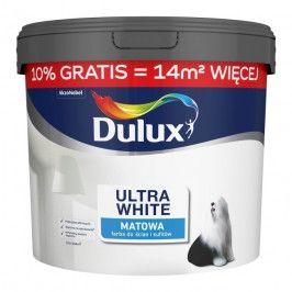 Farba Dulux Ultra white 11 l