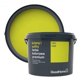 Farba GoodHome Premium Ściany i Sufity cabra 2,5 l