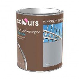 Farba antykorozyjna Colours srebrna 0,7 l