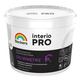 Farba ceramiczna Beckers Interio Pro biała 10 l