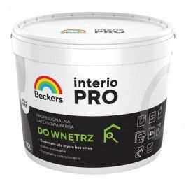 Farba lateksowa Beckers Interio Pro biała 10 l