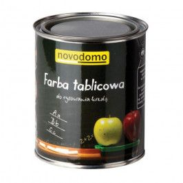 Farba tablicowa Novodomo 0,75 l czarna