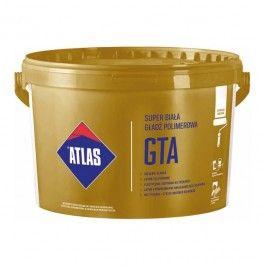 Gotowa gładź Atlas GTA do aplikacji wałkiem 18 kg