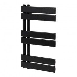 Grzejnik łazienkowy GoodHome Boxwood 70 x 40 cm czarny