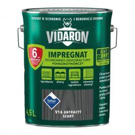 Impregnat do drewna Vidaron antracyt szary 4,5 l