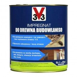 Impregnat do drewna budowlanego V33 5 l