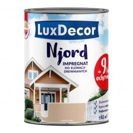 Impregnat do elewacji drewnianych Njord Luxdecor mglista łąka 0,75 l