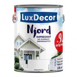 Impregnat do elewacji drewnianych Njord Luxdecor śniegi północy 5 l