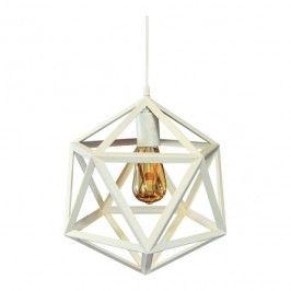 Lampa wisząca Denmark 1 x 20 W E27 biała