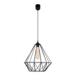 Lampa wisząca Luminex Basket New 1 x 60 W E27 black
