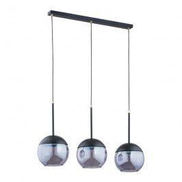 Lampa wisząca Volda 3-punktowa czarna