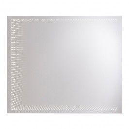 Lustro Prostokątne Cookelewis Calshot 3d 65 X 80 Cm Z Oświetleniem Led