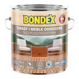 Olej do drewna Bondex Pogodoodporny tek 2,5 l