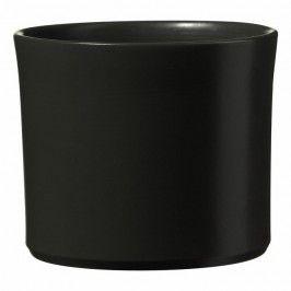 Osłonka Doniczki Sk Soendgen Keramik Miami Styl śr 32 Cm Antracyt