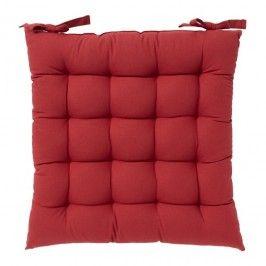 Siedzisko GoodHome Hiva 45 x 45 cm czerwone