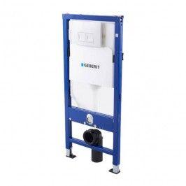 Stelaż podtynkowy WC Geberit Unifix Delta 50 cm przycisk biały