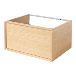 Szafka z szufladą pod umywalkę GoodHome Avela 60 cm drewno