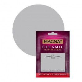 Tester farby Magnat Ceramic srebrzysty granit 0,03 l