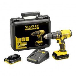 Wiertarko-wkrętarka udarowa Stanley Fatmax 2 x 2 Ah 18 V