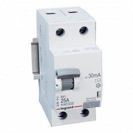 Wyłącznik różnicowoprądowy Legrand RX3 2P 25 A 30 mA AC