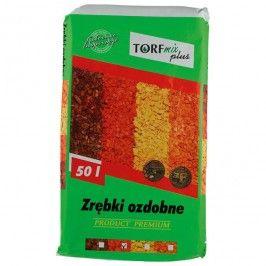 Zrębki Dekoracyjne Aqua Save Torf Mix 50 L żółte