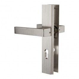 Nietypowy Okaz Klamki do drzwi i okien - klamki z zamkiem, na klucz - Castorama AZ81