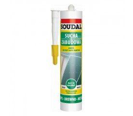 Akryl Soudal do płyt gipsowo-kartonowych biały 300 ml