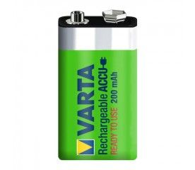 Akumulatory Varta Ready2Use 200 mAh 9 V 1 szt.
