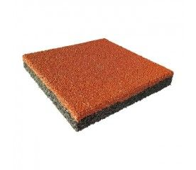 Bezpieczna nawierzchnia 30 x 30 cm czerwona