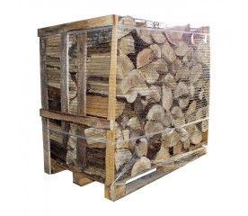 Drewno kominkowe suche 120 x 80 x 100 cm paleta