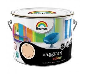 Farba lateksowa Beckers Vaggfarg Colour toffi 2,5 l