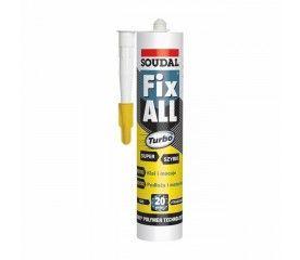 Klej Soudal Fix All Turbo 290 ml biały