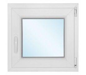 Okno PCV rozwierno - uchylne 565 x 335 mm prawe