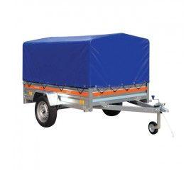 Przyczepa samochodowa Tema Eco 205 x 125 x 32 cm H800