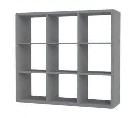 Regał Form Mixxit 9-komorowy 108 x 108 x 33 cm szary
