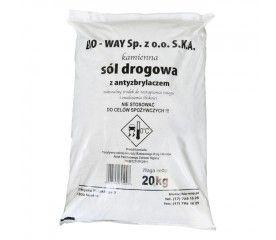 Sól drogowa worek foliowy 20 kg