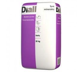 Tynk mineralny Diall baranek 1,5 mm biały 25 kg