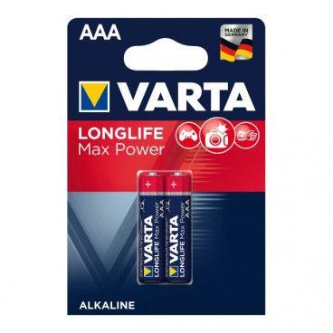 Bateria VARTA Longlife Max Power AAA 2 szt.