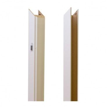 Baza ościeżnicy regulowana 100-140 mm lewa biały greko
