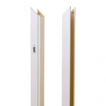 Baza ościeżnicy regulowana 80-100 mm lewa biała