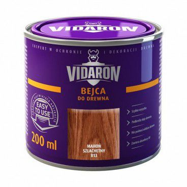 Bejca do drewna Vidaron mahoń szlachetny 0,2 l