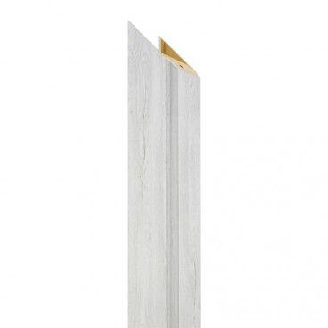 Belka ościeżnicy regulowana 155-175 mm 70 do drzwi bezprzylgowych dąb silver